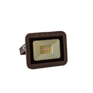 Proiector led 10W (75W) IP65 slim body, negru, multiled, lumina rece
